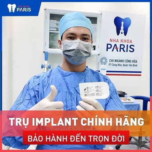 kinh nghiệm cấy implant: chọn trụ & răng sứ phù hợp