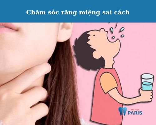 nẹp răng xong xấu hơn do chăm sóc sai cách