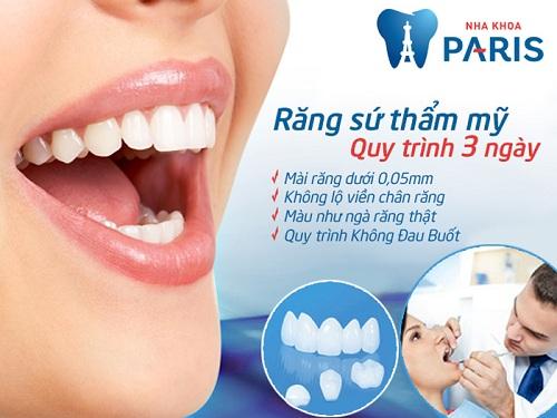 mài răng bọc sứ có ảnh hưởng gì không