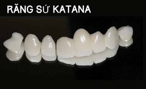 bọc răng sứ không kim loại giá bao nhiêu với răng katana