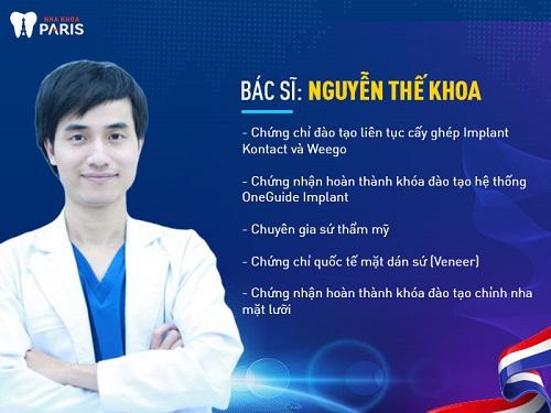 Bác sĩ nha khoa giỏi tại tphcm