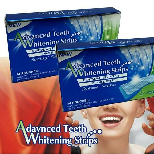 Miếng dán trắng răng advanced teeth