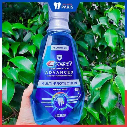 Nước súc miệng Crest Pro-Health Multi-Protection