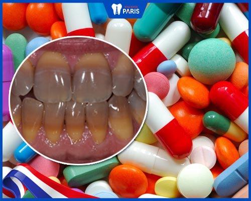 Nguyên nhân khiến răng bị nhiễm tetracycline