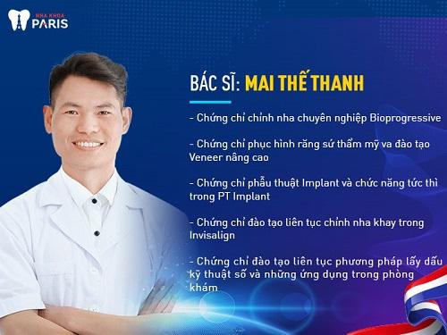 Thông tin bác sĩ nha khoa giỏi ở Hà Nội