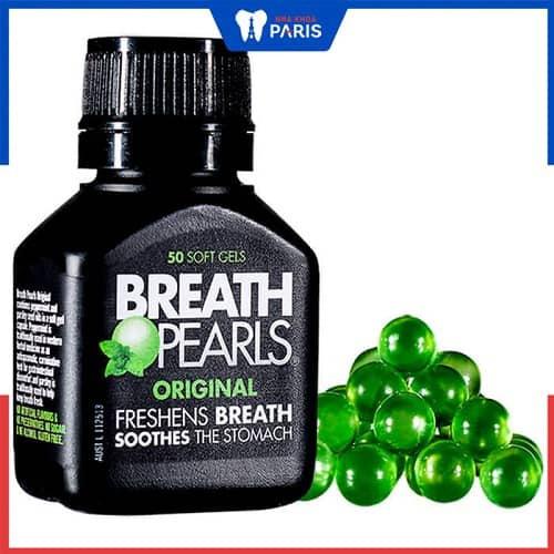 Thuốc trị hôi miệng Breath Pearls