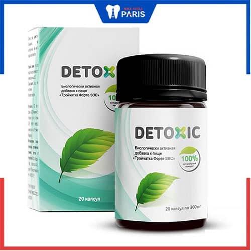 Thuốc điều trị hôi miệng Detoxic