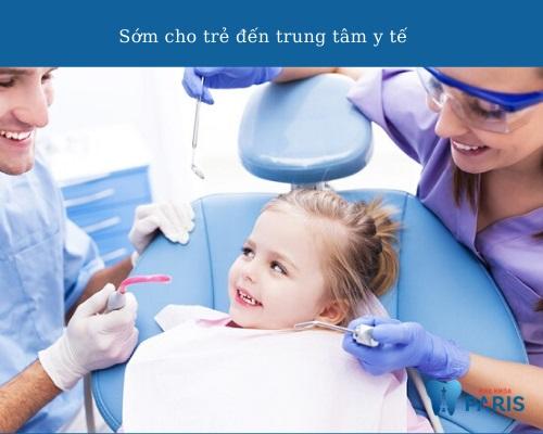 trẻ sốt mọc răng có nên uống kháng sinh
