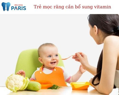 Trẻ mọc răng cần bổ sung chất gì?
