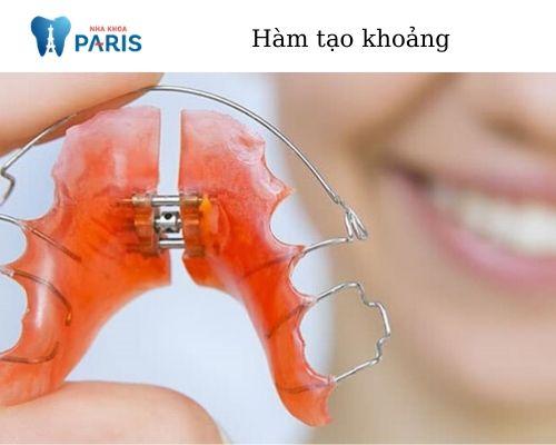 thiết bị nong hàm niềng răng