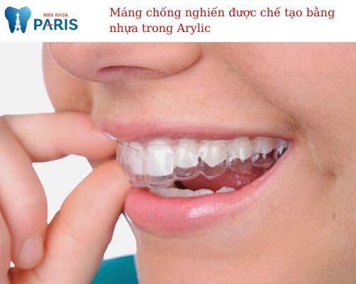Máng chống nghiến răng 1