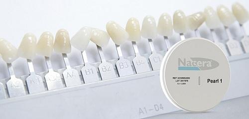 răng sứ nacera có mấy loại