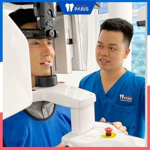 chụp x quang răng có hại không