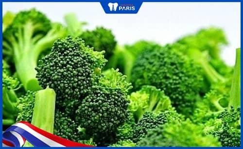 Bông cải xanh có thể ngăn vi khuẩn viêm lợi phát chiển