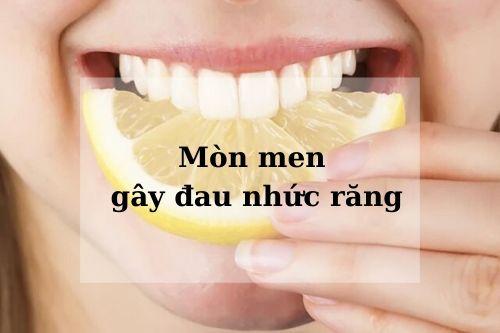 nguyên nhân gây đau nhức răng