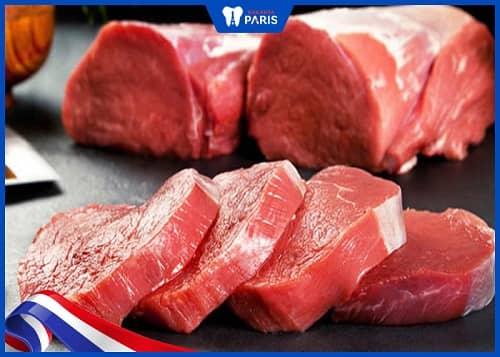 Hạn chế vi khuẩn viêm lợi bằng cách ăn thịt bò