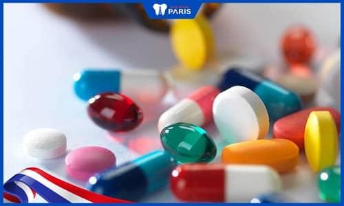 Các loại thuốc nên uống khi bị viêm lợi trùm