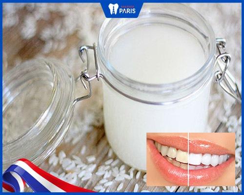 Vậy cách đánh răng bằng nước vo gạo có tốt không?