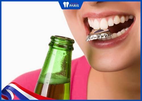 nguyên nhân làm vỡ miếng trám răng