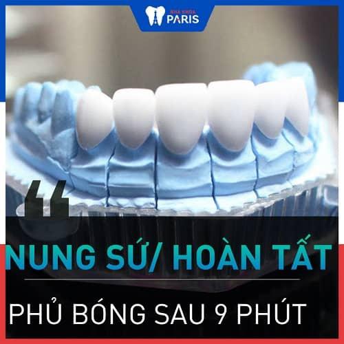 quy trình bọc răng sứ cả hàm