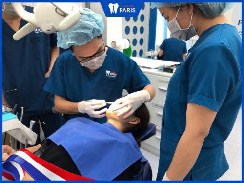 Cắt chỉ nhổ răng khôn tại nha khoa Paris