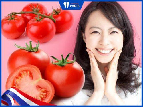 Làm trắng răng từ cà chua chỉ sau 7 ngày