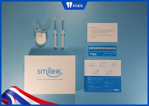 kit làm trắng răng smilee