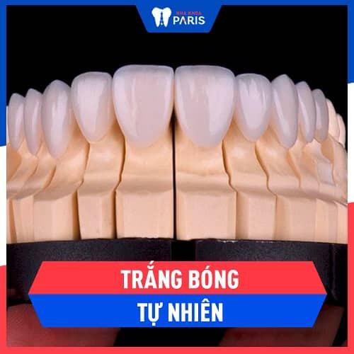 ưu điểm của răng sứ cercon