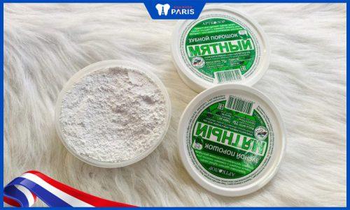 bột trắng răng của Nga