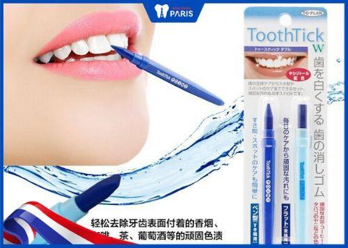 bút tẩy trắng răng của nhật toothtick