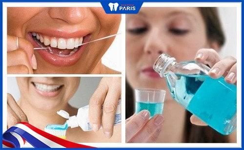 chăm sóc răng sau khi tẩy trắng