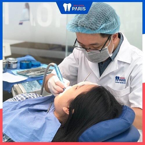 ngăn ảnh hưởng xấu khi lấy cao răng
