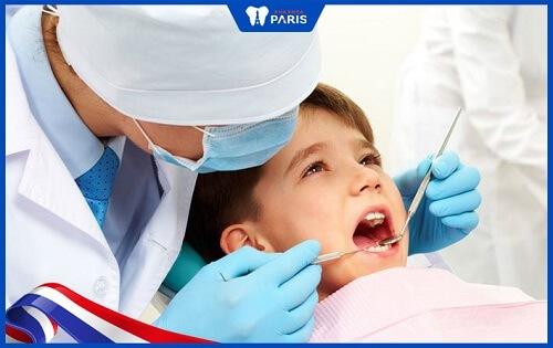 tẩy trắng răng cho trẻ em