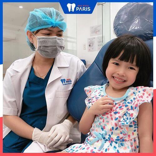 giá trám răng trẻ em
