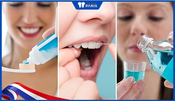 chăm sóc răng miệng tránh làm răng sứ bị đen viền