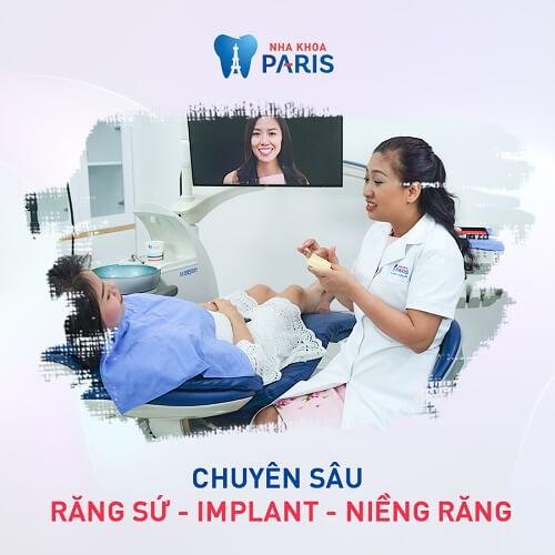 lựa chọn nha khoa uy tín tránh làm răng sứ bị cộm