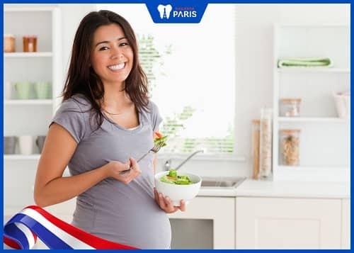 tẩy trắng răng khi mang thai