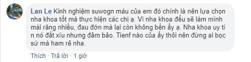 Bạn Lan Le chia sẻ kinh nghiệm làm sứ của mình
