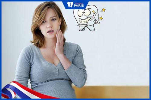 mang thai có tẩy trắng răng được không
