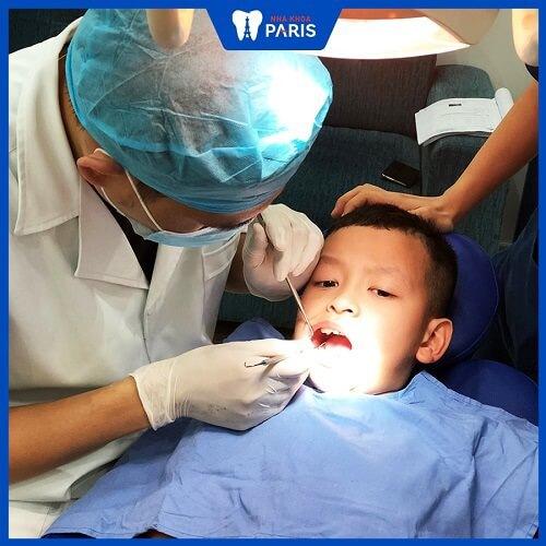 quy trình bọc răng sứ cho trẻ em