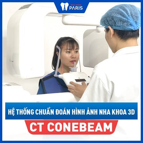 Thiết bị hỗ trợ điều trị răng cửa mọc lệch CT Conebeam