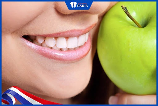 thực phẩm làm trắng răng