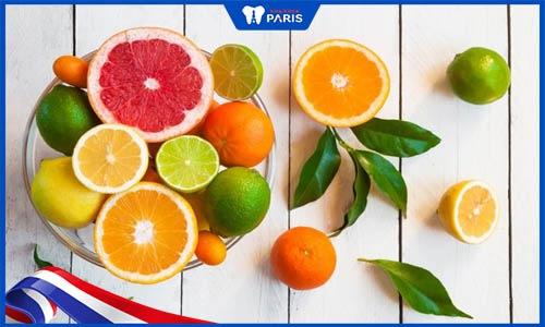 Sử dụng hợp lý các thực phẩm có chứa axit