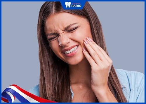 răng trám lâu ngày bị nhức