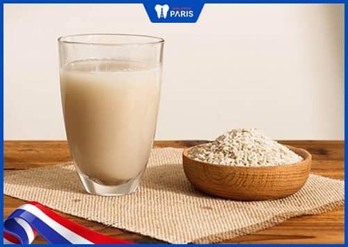 Chữa hôi miệng bằng nước vô gạo đặc