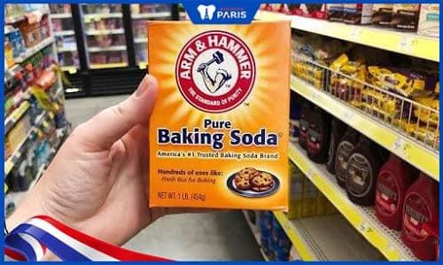 trị hôi miệng bằng baking soda an toàn