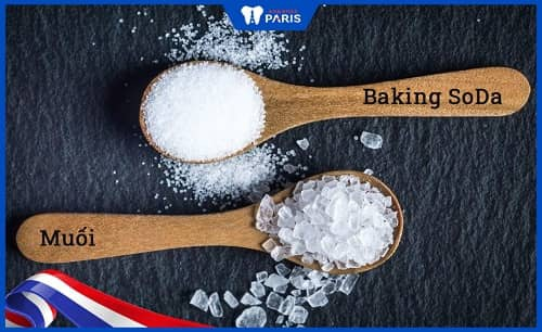 cách chữa hôi miệng bằng baking soda và muối