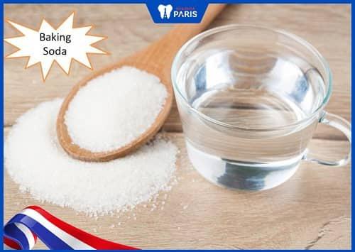 cách chữa hôi miệng bằng baking soda nguyên chất