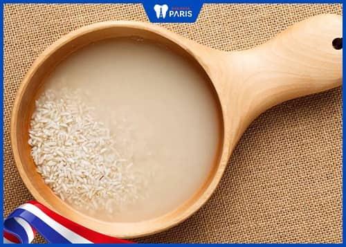 Lưu ý khi dùng nước vo gạo để súc miệng