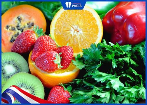Ăn Các loại quả giàu vitamin C để chữa tụt lợi hiệu quả